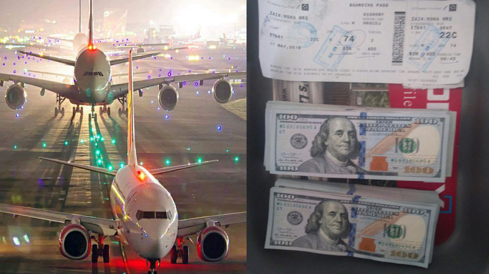 मुंबई एयरपोर्ट से CISF ने बरामद की लाखों की विदेशी नकदी, दो विदेशी नागरिक गिरफ्तार