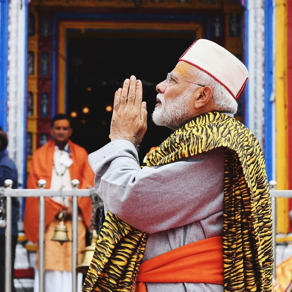 God made me to give to society: Modi