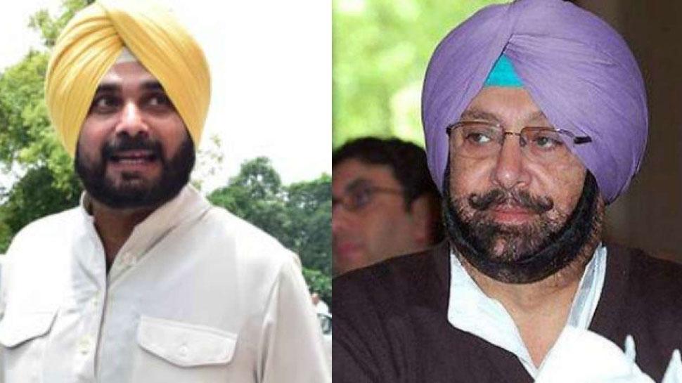 पंजाब कांग्रेस में बड़ी फूट, कैप्टन अमरिंदर बोले- नवजोत सिंह सिद्धू मुझे हटाकर खुद CM बनना चाहते हैं