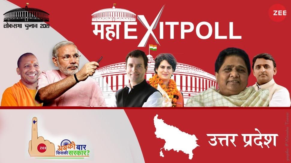 #ZeeMahaExitPoll: यूपी में बीजेपी को बड़ा नुकसान, ABP-NEILSON सर्वे में गठबंधन को 56 सीटें