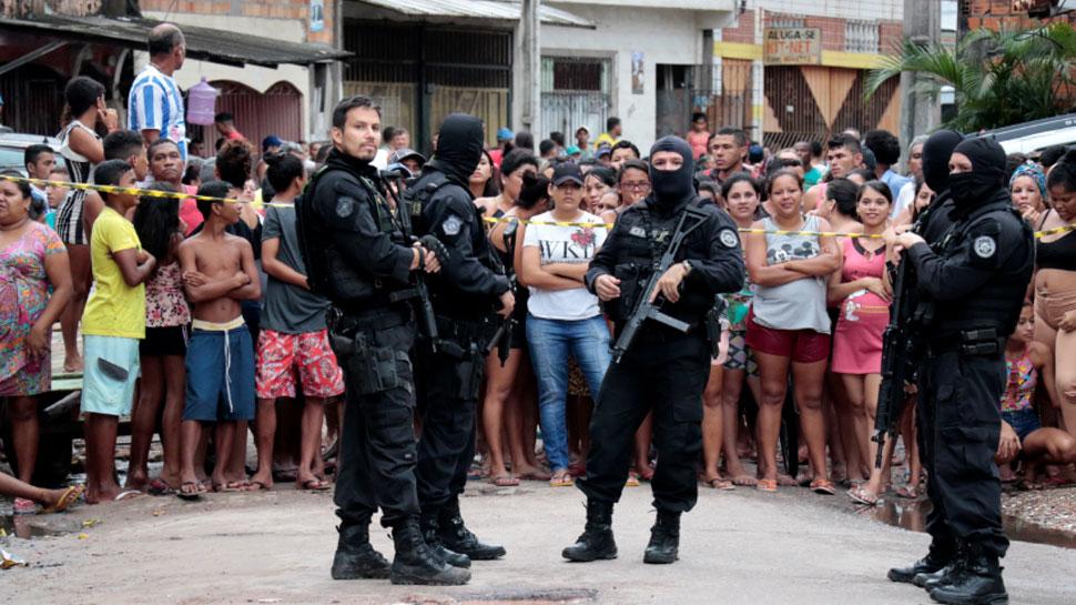 ब्राजील के बार में गोलीबारी से 11 लोगों की मौत, मास्क पहनकर आए थे हमलावर