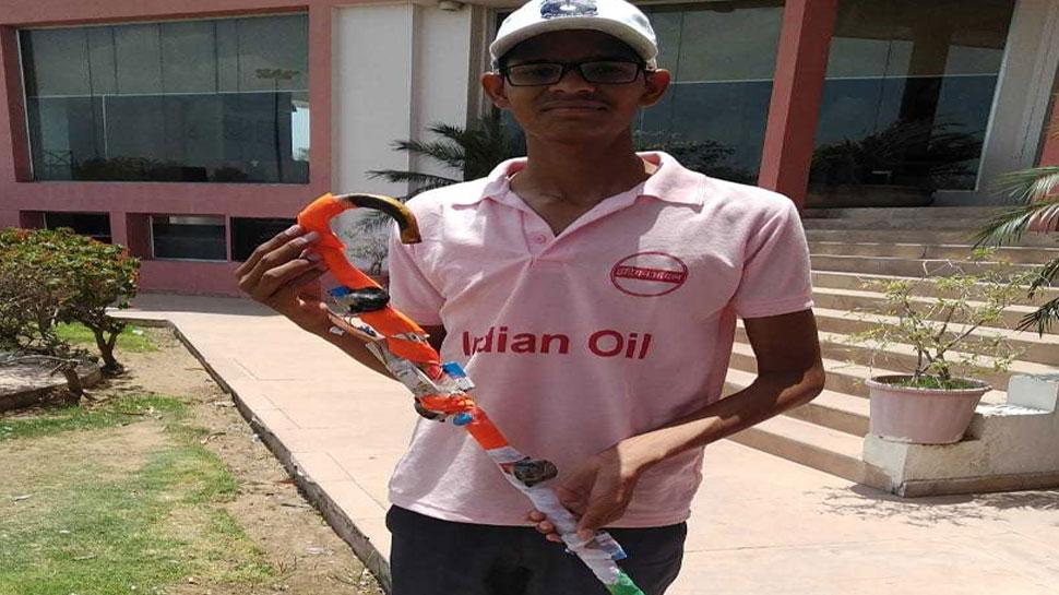 राजस्थान: दृष्टिबाधित छात्र ने बनाई जादुई स्टिक, खतरे से पहले जारी करेगी अलर्ट