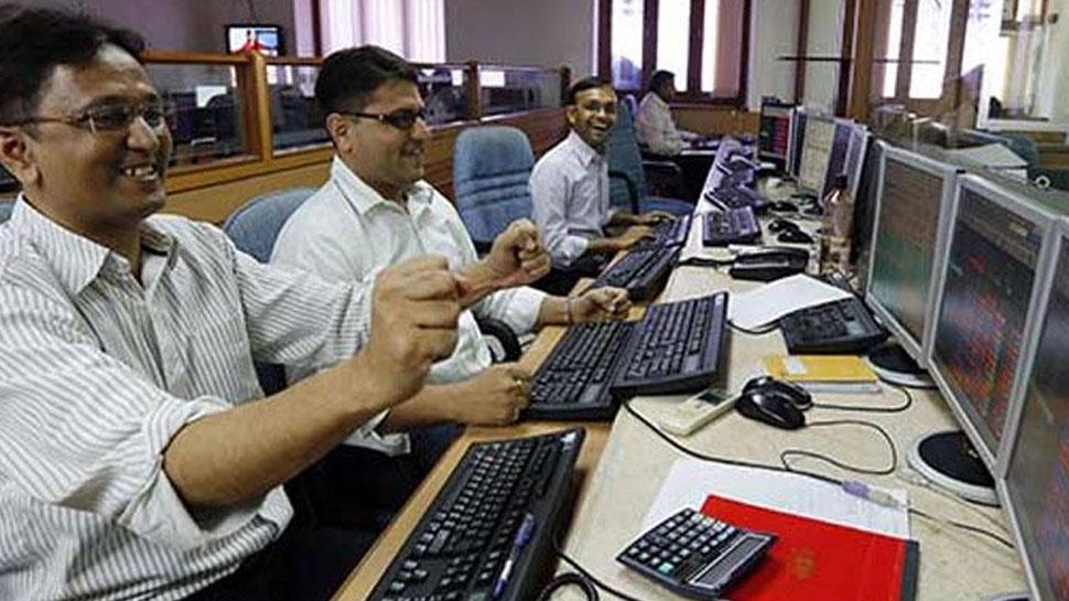 Exit Poll के नतीजों से शेयर मार्केट में जबरदस्त खुशहाली, Sensex 1422 अंक उछला
