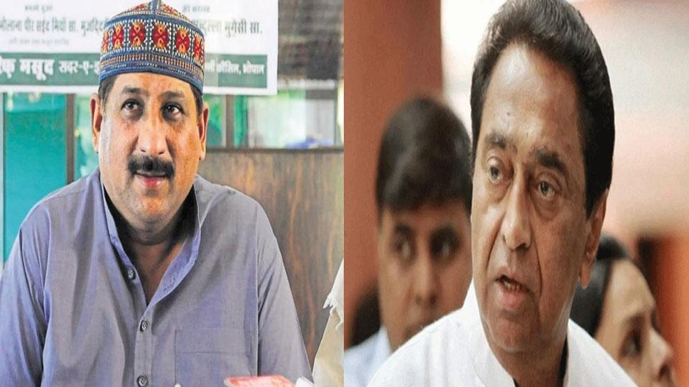CM कमलनाथ को कांग्रेस विधायक आरिफ मसूद की दो टूक, बोले- जेल DG को हटाएं वरना...