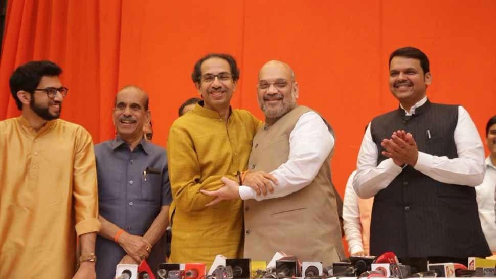maharashtra Lok sabha election results 2019 LIVE: BJP-शिवसेना 31, कांग्रेस-NCP 16 सीटों पर आगे