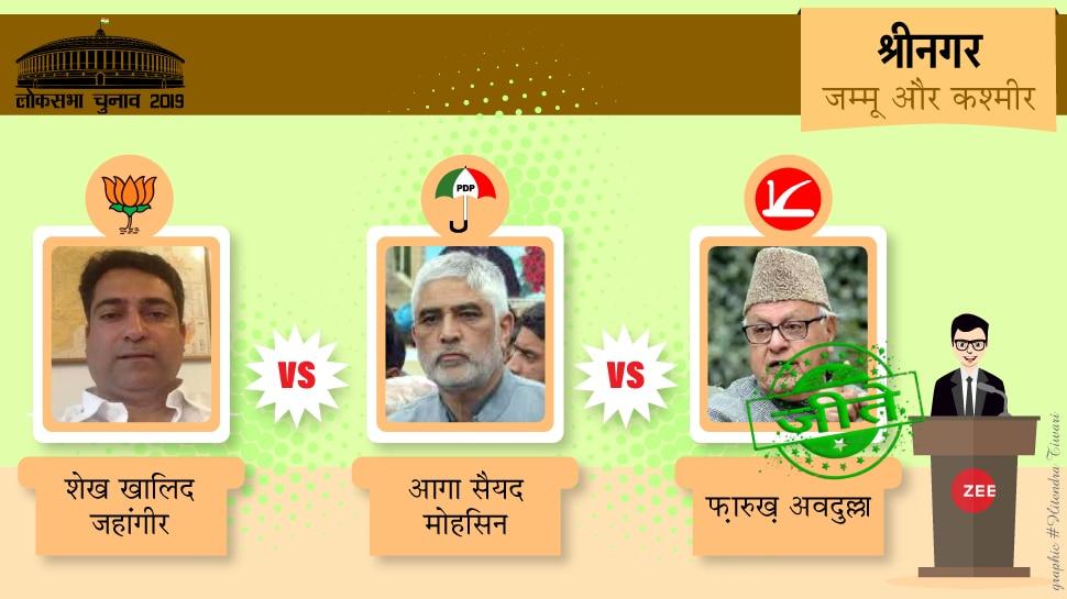 Lok Sabh Election Result 2019: नेशनल कांफ्रेंस के दुर्ग श्रीनगर में काबिज है फारुख अब्दुल्ला का परचम