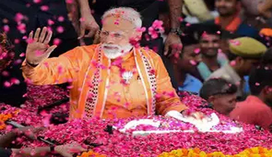 PM मोदी ने तोड़ा 2014 का अपना ही रिकार्ड, काशी से भारी मतों के साथ जीतें