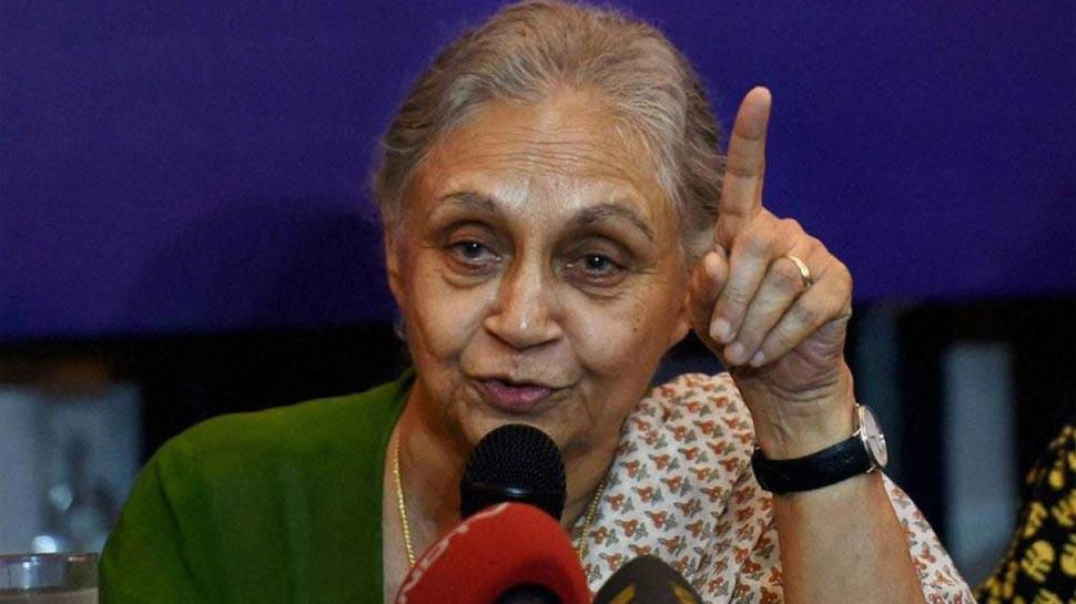 शीला दीक्षित ने शानदार प्रदर्शन के लिए बीजेपी को दी बधाई, स्वीकार की पार्टी की हार