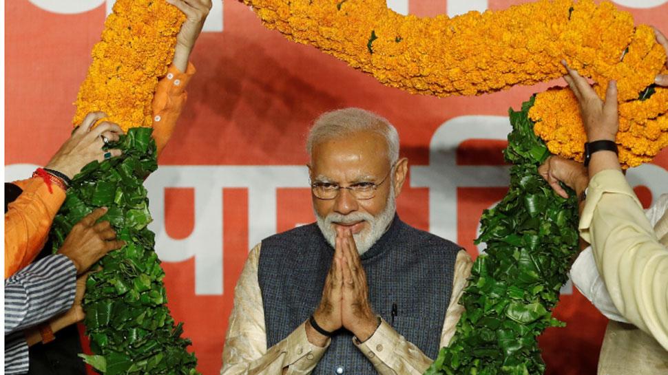 अकेले भाजपा ने किया 300 का आंकड़ा पार... फिर एक बार मोदी सरकार
