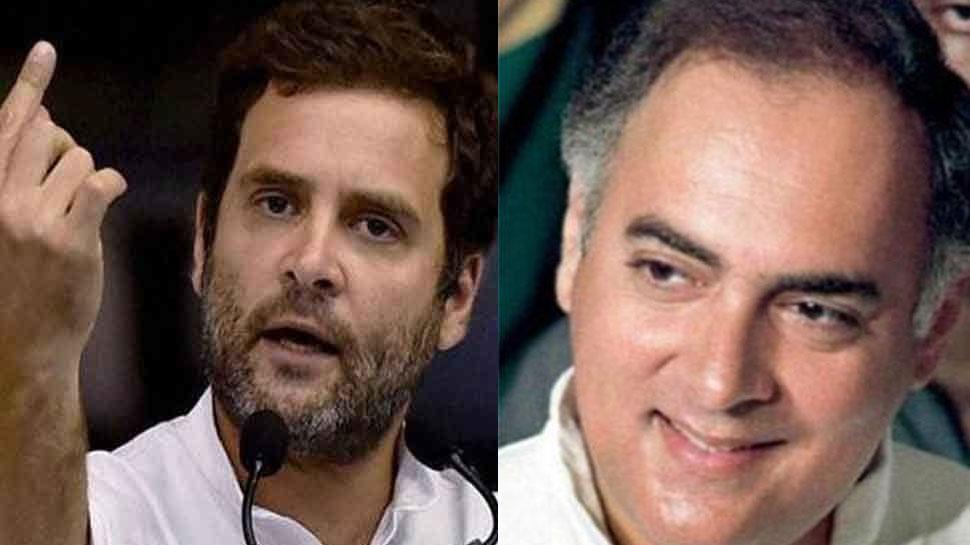 अमेठी को राहुल गांधी से नहीं मिला वह अपनापन, जो पिता राजीव से मिलता था