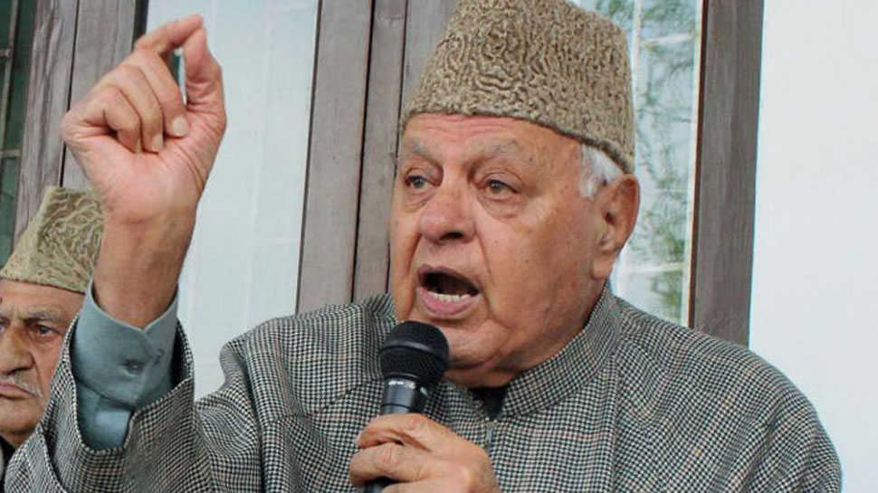 फारूक अब्दुल्ला बोले, 'जम्मू कश्मीर से अनुच्छेद 370, 35A नहीं हटा सकते मोदी'