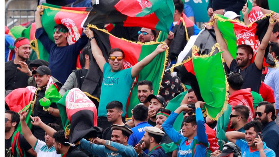 VIDEO: विश्व कप अभ्यास मैच में अफगानिस्तान की पाकिस्तान पर जीत, फैंस ने ऐसे मनाया जश्न