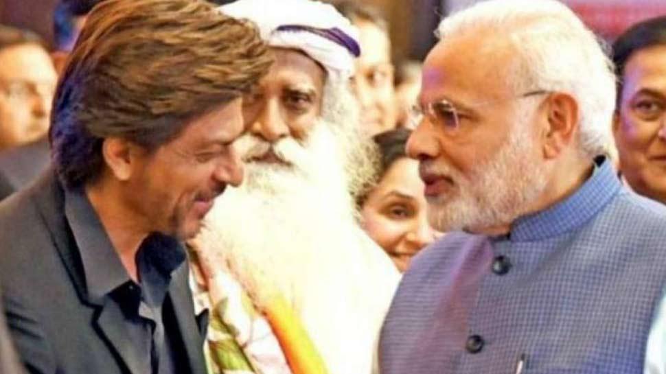 बॉलीवुड के किंग खान ने दी PM मोदी को जीत की बधाई, इस अंदाज में किया WISH