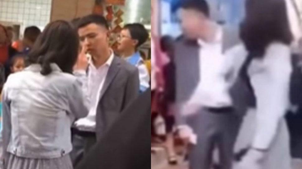 VIDEO: गर्लफ्रेंड से किया था Gift देने का वादा, लेकिन पार्टी में पहुंच गया खाली हाथ, तो पड़े 50 चांटे