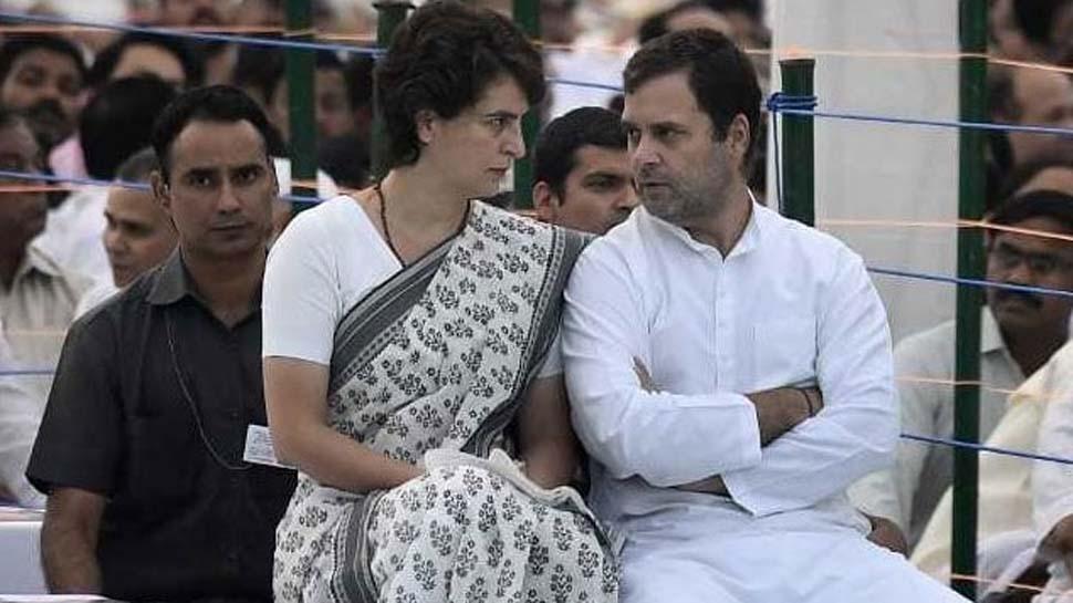 प्रियंका गांधी बोलीं-अगर राहुल इस्तीफे पर अड़े रहे तो बीजेपी की चाल सफल हो जाएगी