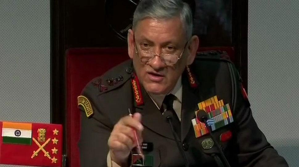 क्यों की गई थी बालाकोट एयर स्ट्राइक, आर्मी चीफ जनरल बिपिन रावत ने बताई वजह