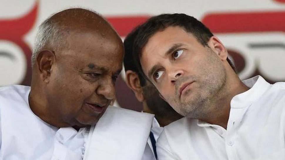 कांग्रेस नेता का दावा, '10 जून के बाद नहीं रहेगी कर्नाटक सरकार, टूट जाएगा गठबंधन'