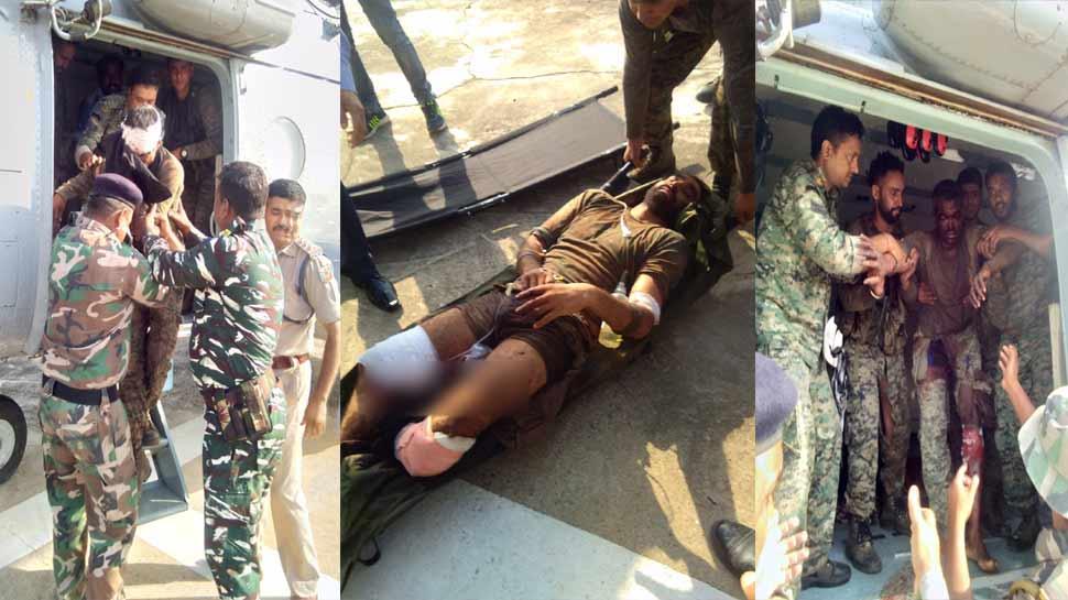झारखंडः नक्सली हमले में 21 जवान घायल, IED ब्लास्ट कर पेट्रोलिंग पार्टी को बनाया निशाना