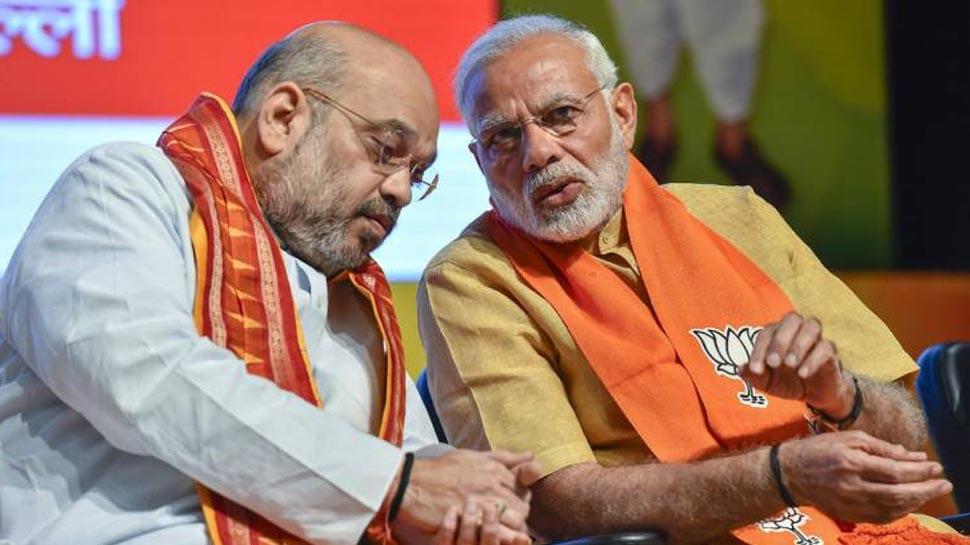 मोदी सरकार- 2 में किसे मिलेगा कौन सा मंत्रालय, PM मोदी-अमित शाह के बीच चली मैराथन बैठक