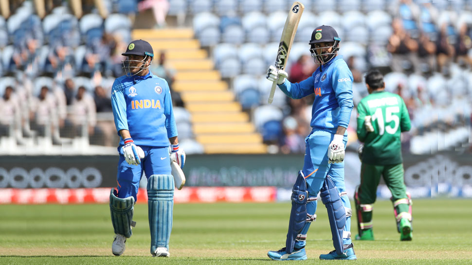 Dhoni KL Rahul gives Relief