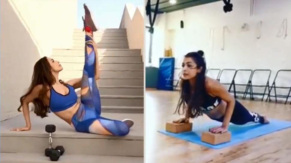मलाइका अरोड़ा के योगा स्टाइल ने किया सबको कायल! गजब ढा रहे हैं Viral Videos