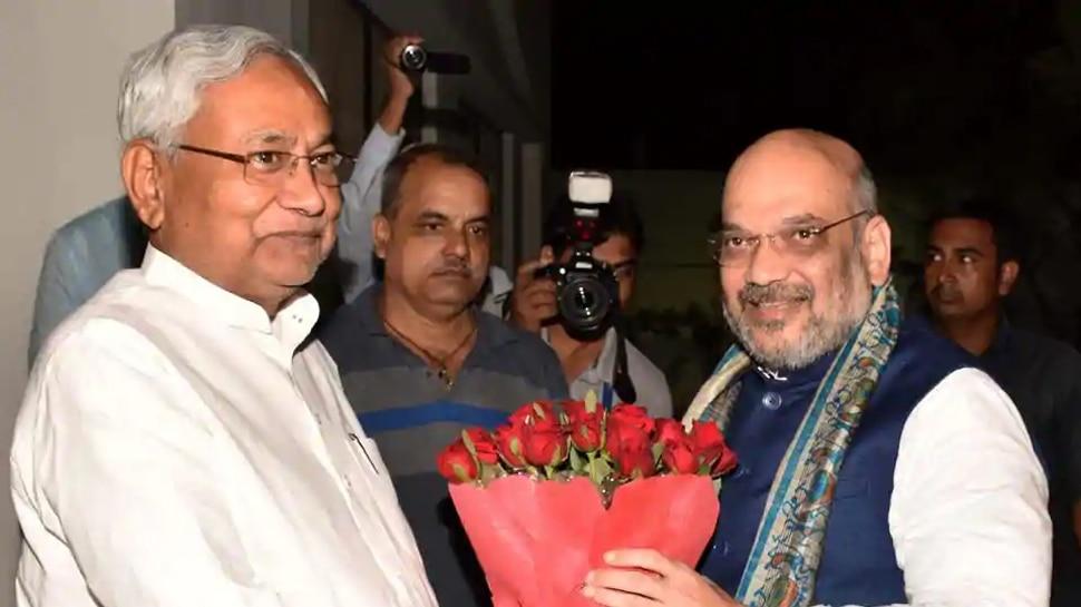 अमित शाह से मिलने पहुंचे नीतीश कुमार, JDU कोटे से मंत्रियों के नाम पर लगेगी मुहर!