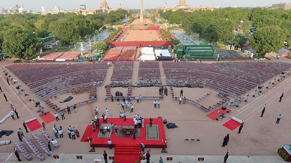PM मोदी का शपथ ग्रहण समारोह कल, 6000 मेहमानों के लिए राष्ट्रपति भवन में चल रही खास तैयारी