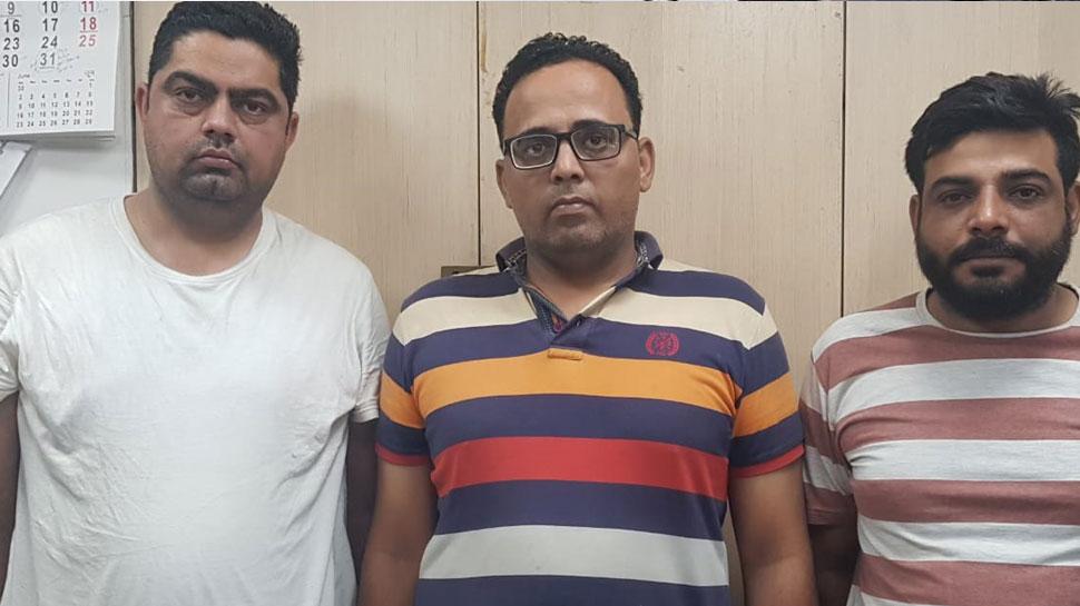 दिल्ली एयरपोर्ट: 50 हजार में उपलब्ध कराते थे यूएई का फर्जी वर्क वीजा, तीन गिरफ्तार