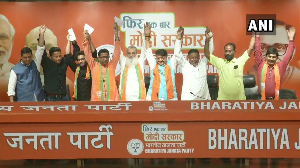 बंगाल में ममता की खिसकती जमीन, TMC विधायक समेत 4 नेताओं ने थामा बीजेपी का दामन