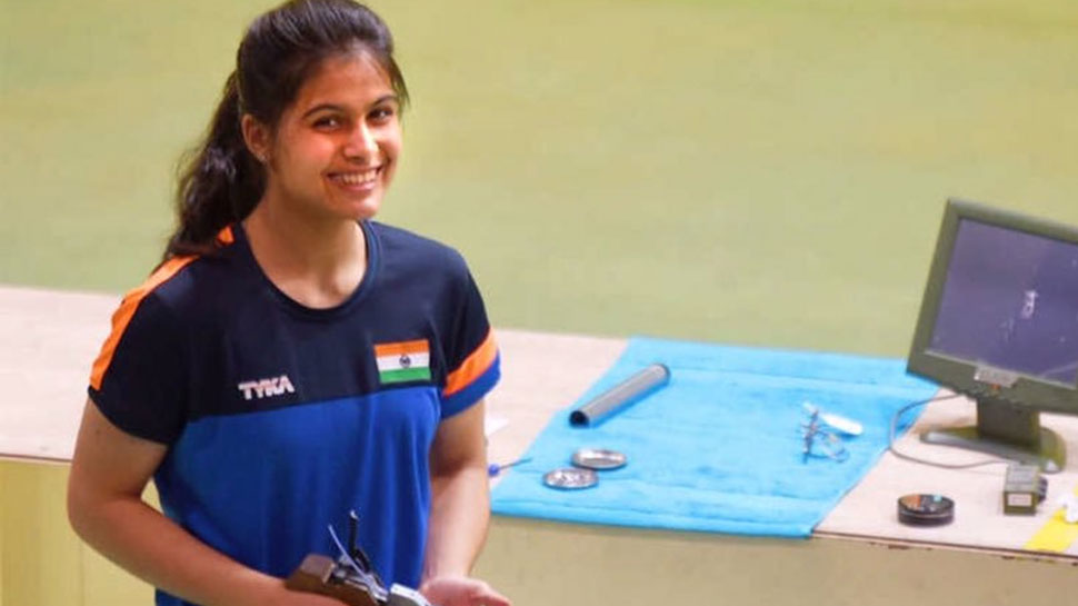 निशानेबाजी: मनु भाकर ने भारत के लिए हासिल किया 7वां ओलंपिक कोटा