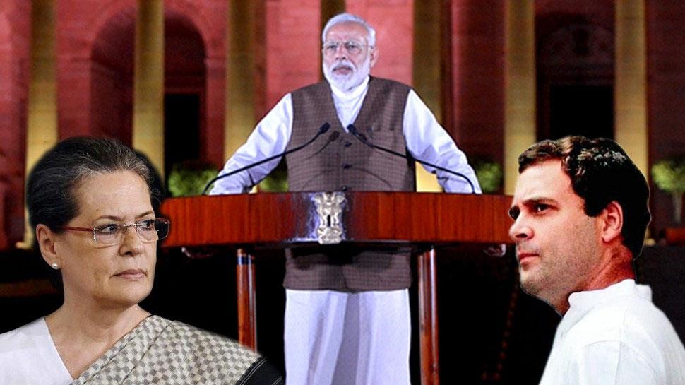 PM मोदी के शपथ ग्रहण समारोह में सोनिया-राहुल होंगे शामिल, ममता बनर्जी कर चुकी हैं मना