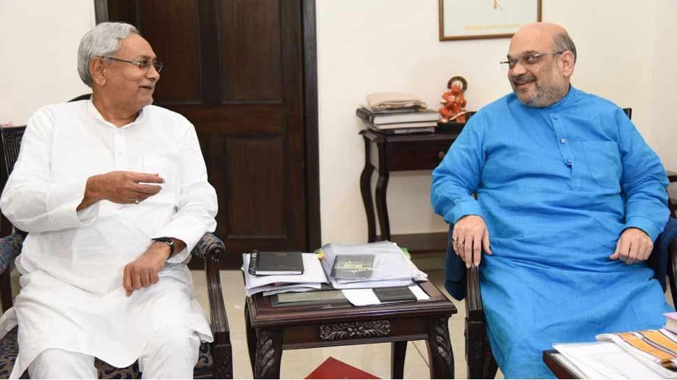 BJP अध्यक्ष ने की नीतीश कुमार से मुलाकात, मोदी से फिर मिले अमित शाह
