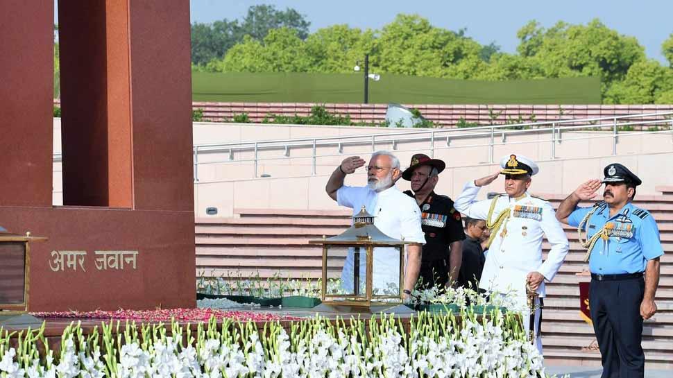 दूसरी बार प्रधानमंत्री पद की शपथ लेने से पहले नरेंद्र मोदी ने देश से किया ये वादा...
