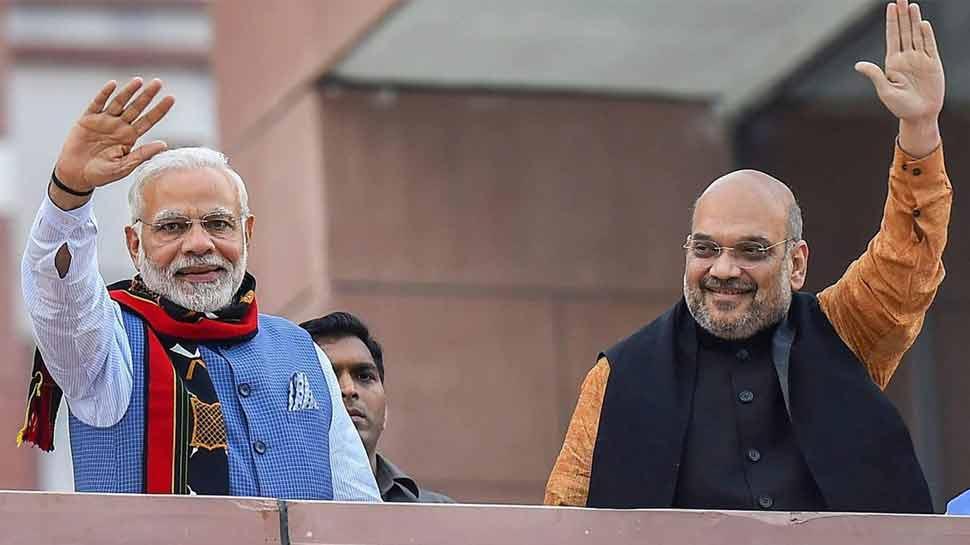 शपथ ग्रहण से पहले पीएम नरेंद्र मोदी और अमित शाह ने डेढ़ घंटे तक की अहम बैठक, यह थी वजह