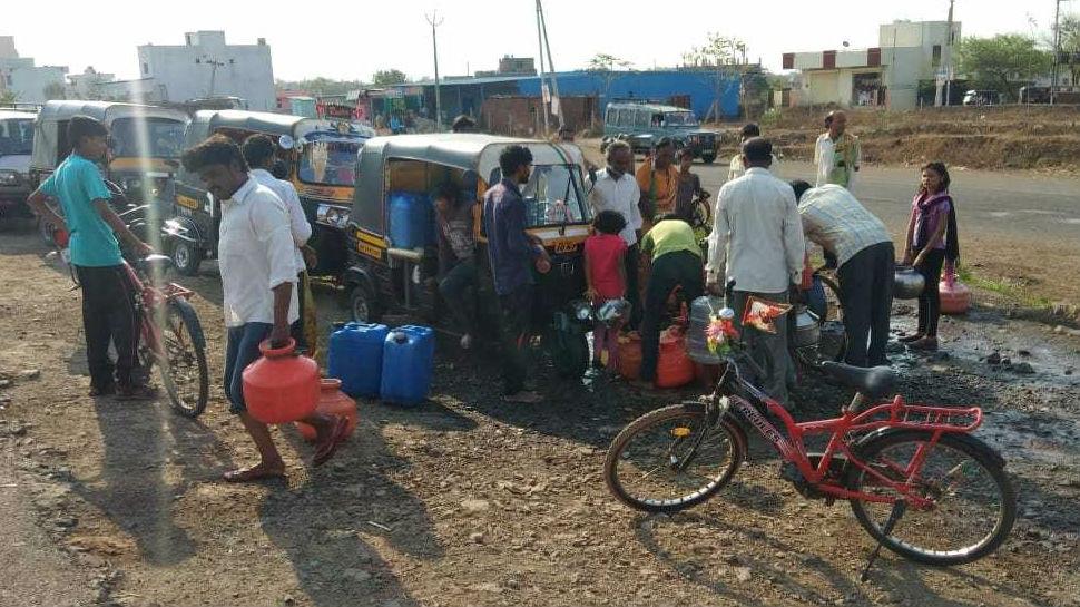 MP: भारी जल संकट से जूझ रहे बैतूल के दर्जन भर गांव के लोग, नहीं मिल रहा पीने के लिए पानी