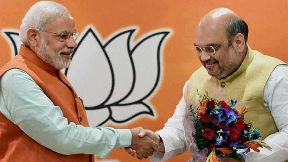BJP नेता जीतू वाघानी ने किया ट्वीट, 'अमित शाह को मंत्रिमंडल में शामिल होने की बधाई'