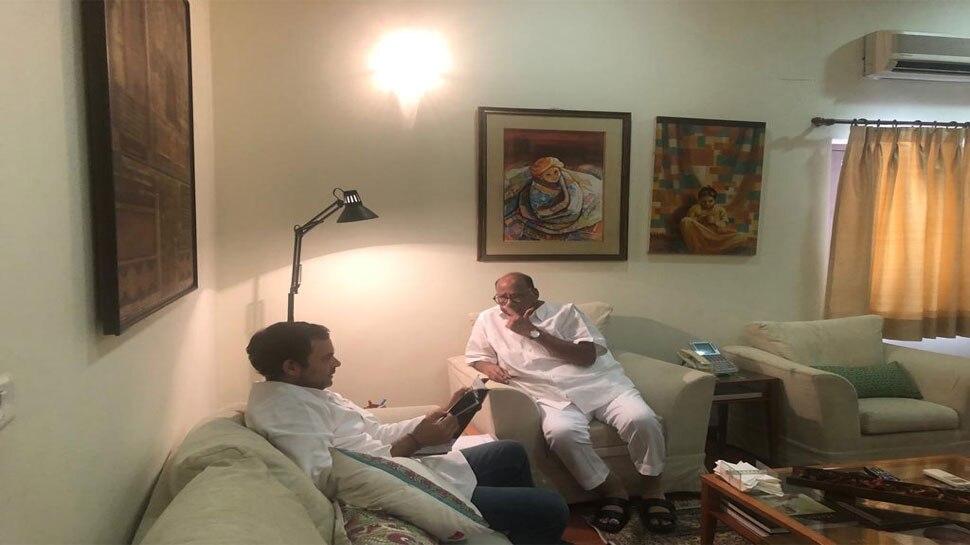 राहुल गांधी से मिले शरद पवार, कांग्रेस में हो सकता है NCP का विलय: सूत्र