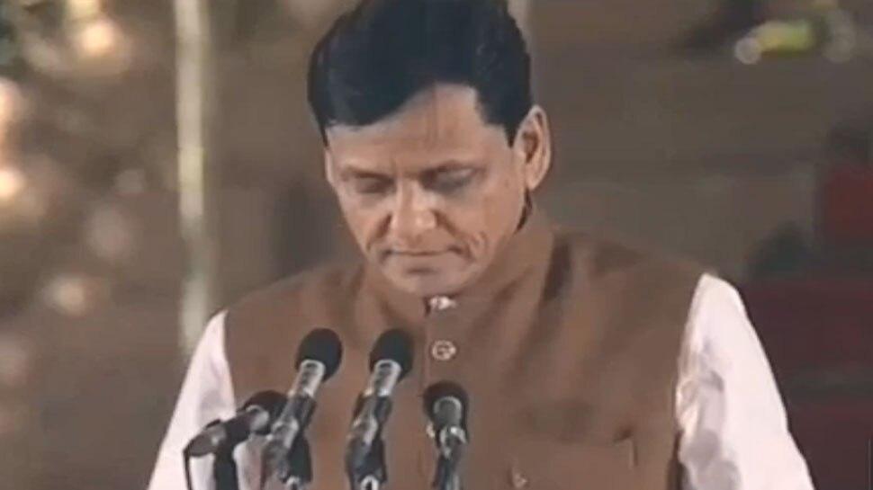 नित्यानंद राय को मिली पहली बार मंत्री पद की जिम्मेदारी, किया शपथ ग्रहण