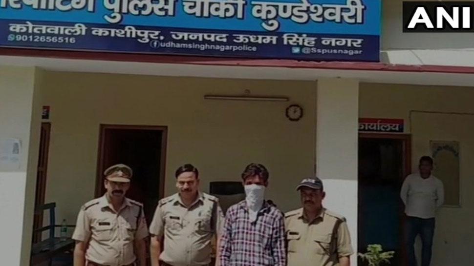 उत्तराखंड के काशीपुर में 2 जिंदा ग्रेनेड के साथ युवक गिरफ्तार