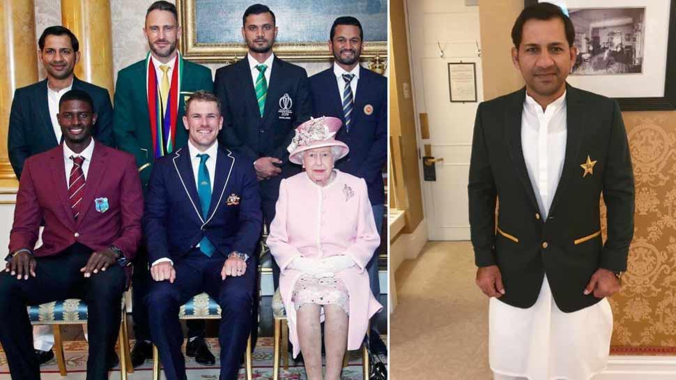 सलवार-कमीज पहनने पर पाकिस्तानी कप्तान सरफराज की हुई खिंचाई, अब देना पड़ा ये बयान