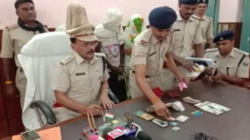 बिहारः उड़ीसा से आए अपराधी कैमूर में दे रहे थे लूट की घटना को अंजाम, तीन गिरफ्तार