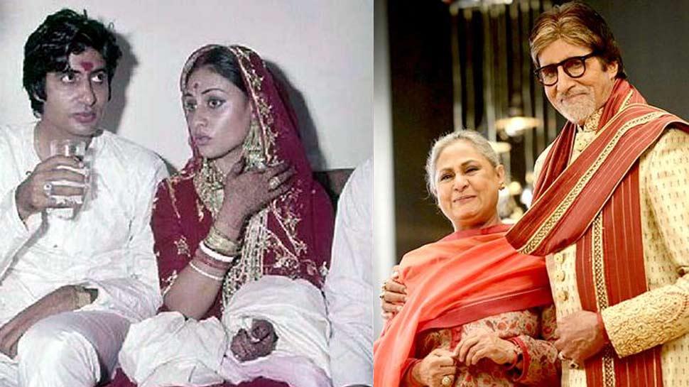 Big B की जिंदगी में लेडी लक बनकर आई थीं जया बच्चन, आज हुए शादी को 46 साल