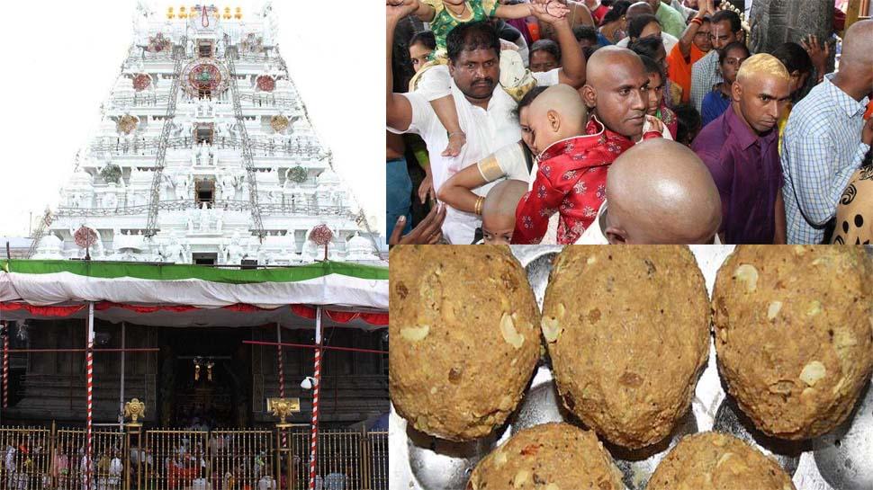 देश का सबसे धनी मंदिर तिरुपति हुआ और अमीर, श्रद्धालुओं ने एक माह में 1.11 करोड़ लड्डू खरीदे