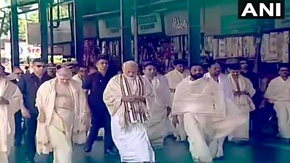 PM Modi in traditional costumes