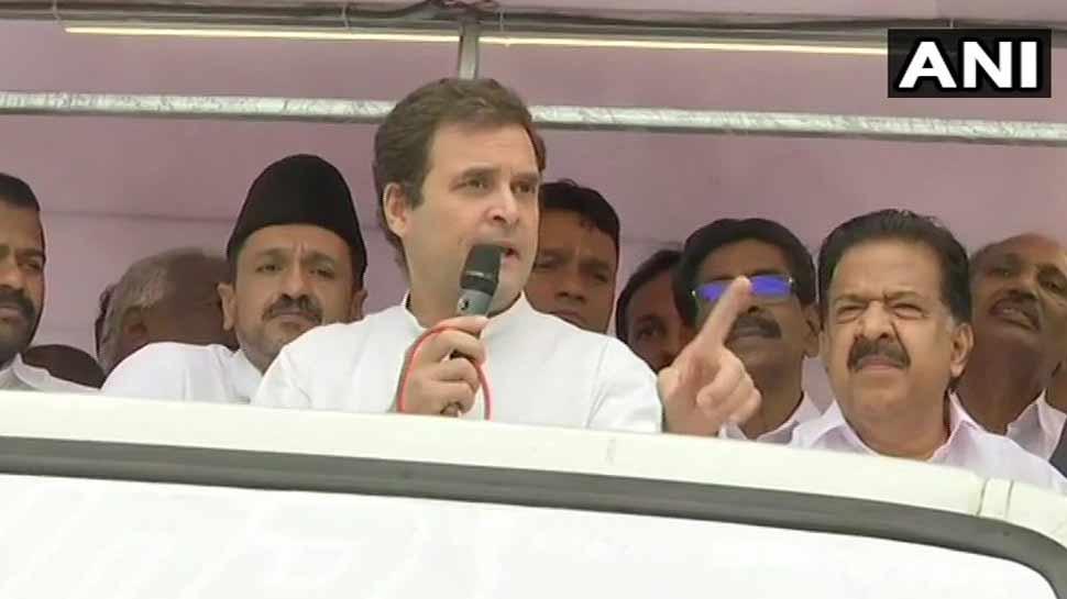 राहुल गांधी का PM मोदी- BJP पर निशाना, कहा- 'नफरत का जवाब हम प्यार से देंगे'