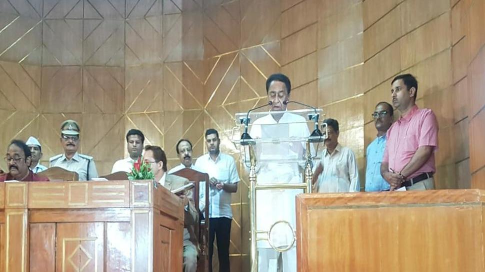 मध्य प्रदेश: 8 बार सांसद रह चुके CM कमलनाथ ने पहली बार ली विधायक पद की शपथ