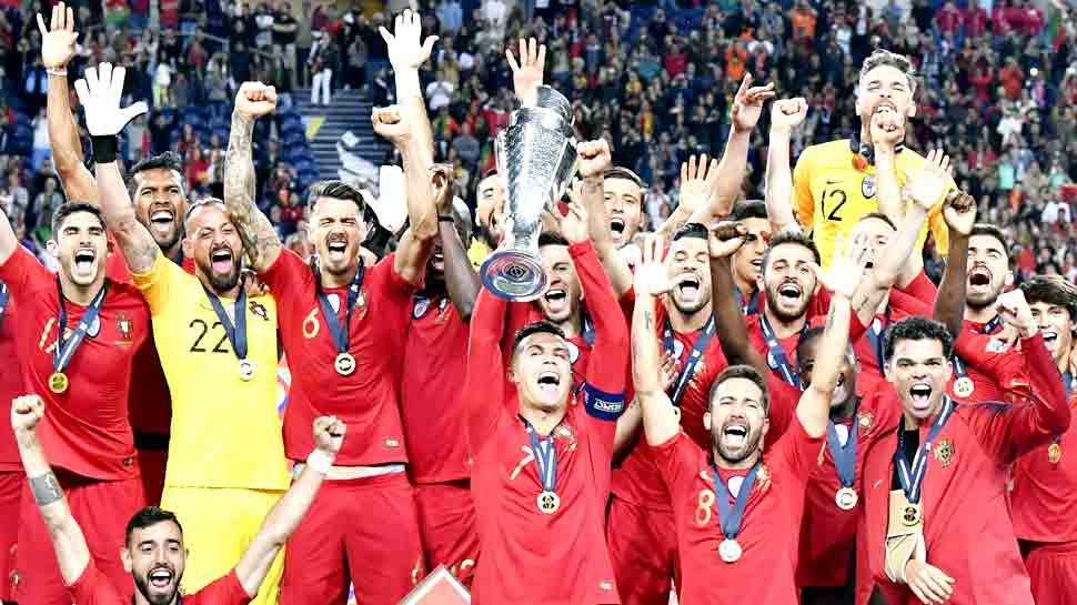 Football: पुर्तगाल ने जीता नेशंस लीग कप, फाइनल में हॉलैंड को हराया