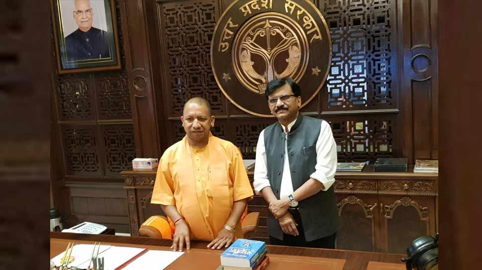 योगी आदित्यनाथ से मुलाकात के बाद बोले संजय राउत, 'अब राम मंदिर पर फैसले की घड़ी आ चुकी है'