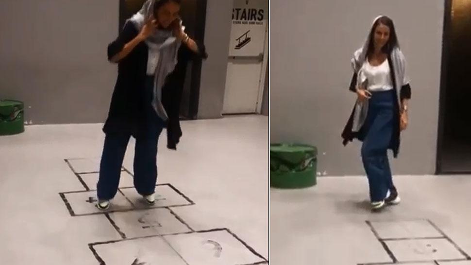 Viral Video: ईरान में बचपना करती दिखी यह बॉलीवुड एक्ट्रेस! लोग बोले- 'सो स्वीट'