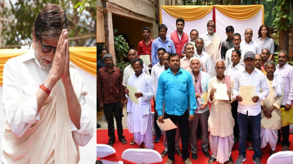 अमिताभ बच्चन ने बिहार के 2100 किसानों का चुकाया कर्ज, किया एक और मदद का वादा